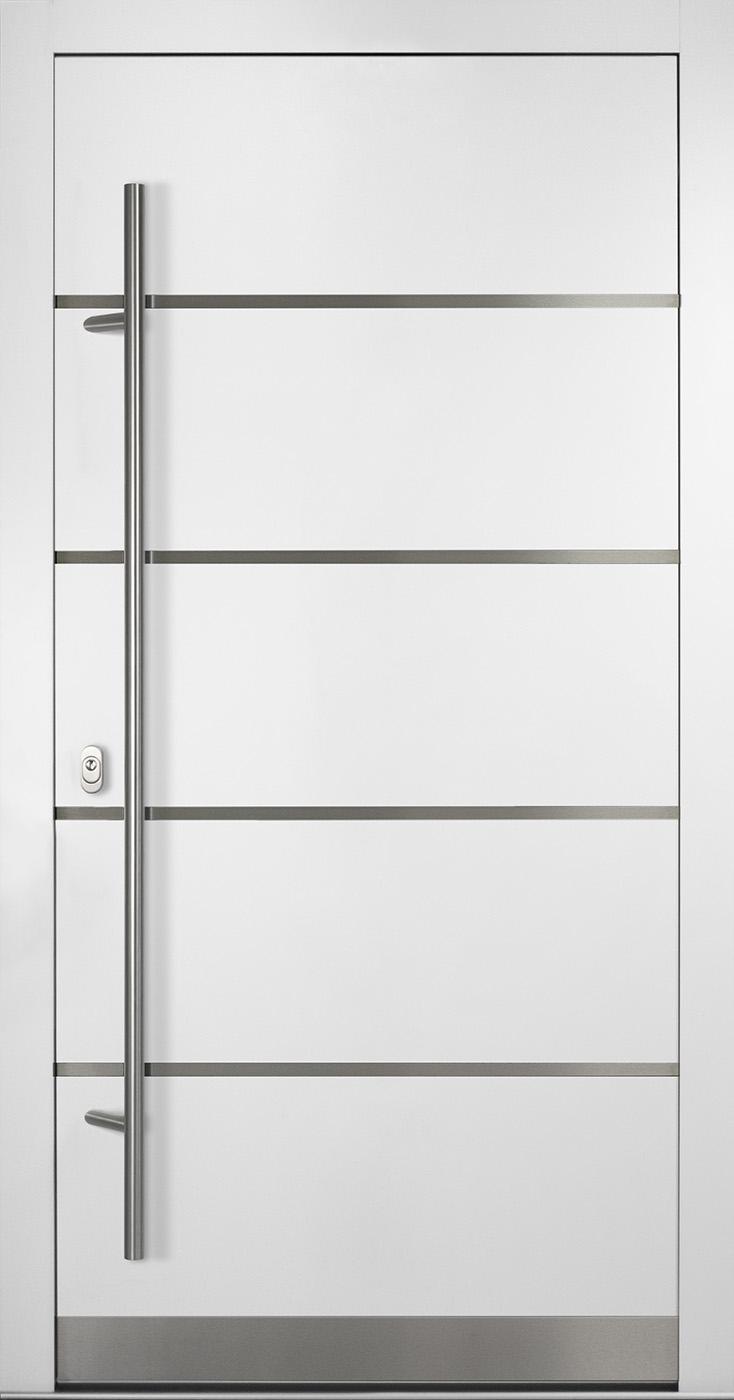 Haustür weiß glas  Aluminium Haustür - Bautiefe 92mm | Onlinekonfigurator ...