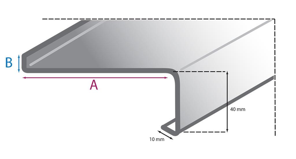 Außenfensterbänke - Aluminium CLASSIC | Onlinekonfigurator ...