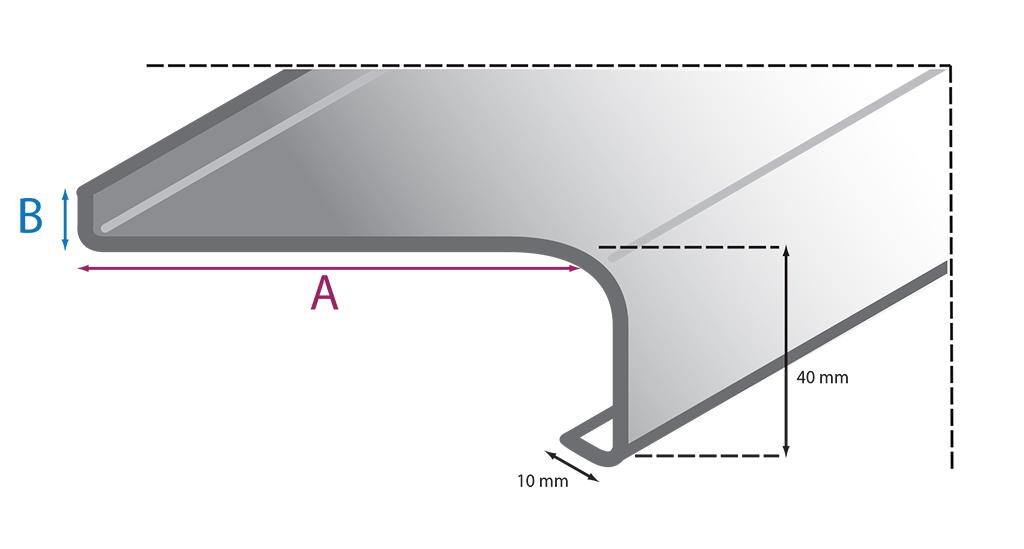 fensterb nke au en aluminium softline onlinekonfigurator baudiscount. Black Bedroom Furniture Sets. Home Design Ideas